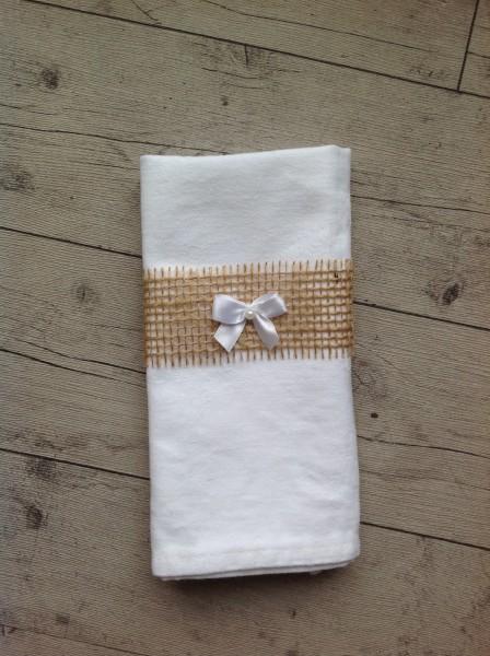 Bestecktaschen Basteln jute bestecktaschen dekoband mit schleife mimis bastelwelt